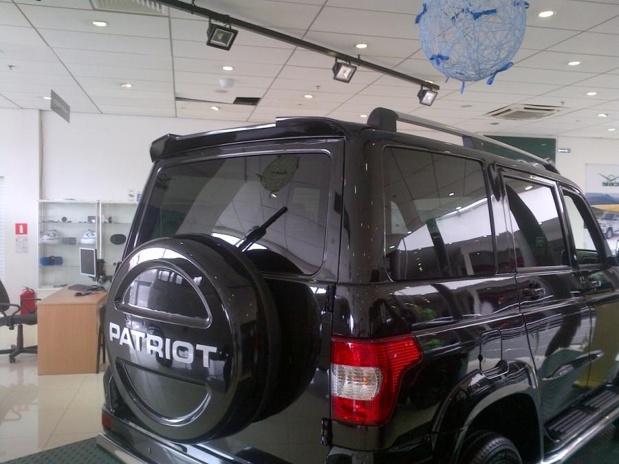 Спойлер УАЗ Патриот RS-sport