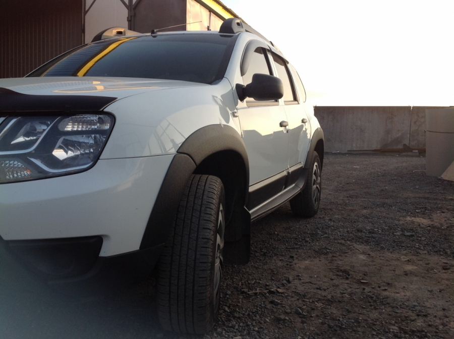 Расширители арок Duster (Renault Duster)