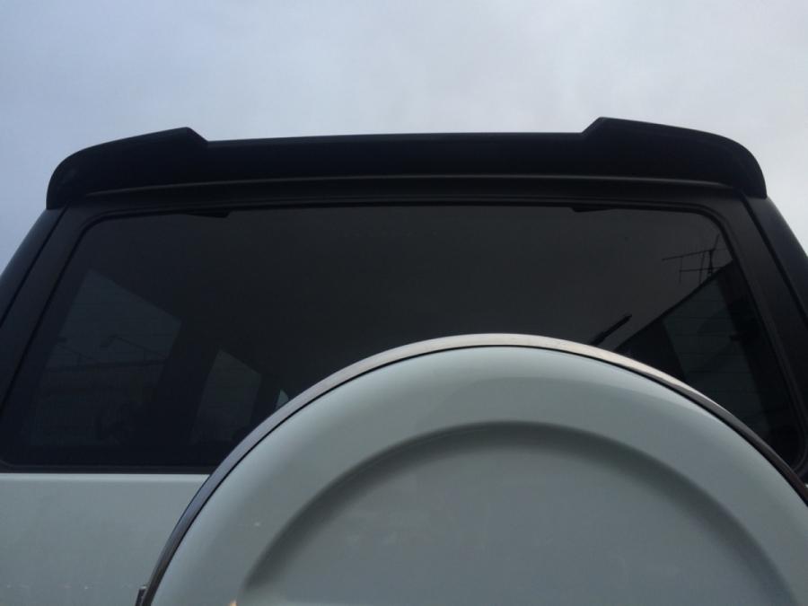 Непродувной спойлер (козырек) УАЗ Патриот RS-sport