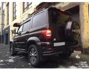 Спойлер УАЗ Патриот RS-sport (со стоп-сигналом)