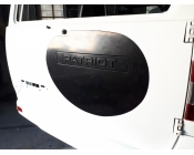 Заглушка на заднюю дверь (вместо запасного колеса) УАЗ Патриот