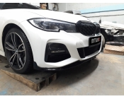 Сплиттер переднего М-бампера BMW 3-series (G20). Аналог М-Perfomance (OEM 51192455832)