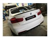 Диффузор заднего бампера BMW 3-series (F30). Аналог М-Perfomance 328