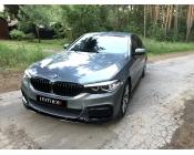 Сплиттер BMW 5-series (G30) в стиле M-Performance (OEM 51192414137 и 51192414139)